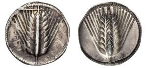 LUCANIA - METAPONTUM      (540-510a.C.)  ...
