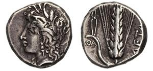 LUCANIA - METAPONTUM      (330-300 a.C.)  ...