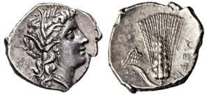 LUCANIA - METAPONTUM      (290-280 a.C.)  ...