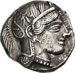 ATTICA - ATHENS - (454-404 a.C.)  ...