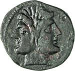 ROMANO CAMPANE  (280-211 a.C.)  Didramma in ...