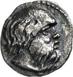 SICILIA - KATANE -   (420-410 a.C.)  Litra.  ...
