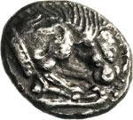 LUCANIA - VELIA -   (535-465 a.C.)  Dracma.  ...