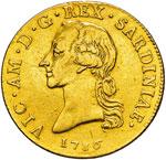 VITTORIO AMEDEO III  (1773-1796)  Mezzo ...