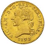 VITTORIO AMEDEO III  (1773-1796)  Doppia ...