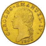 CARLO EMANUELE IV  (1796-1800)  Doppia 1800 ...