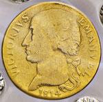 VITTORIO EMANUELE I  (1802-1821)  Doppia ...