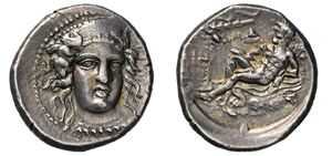 BRUTTIUM - KROTON -  (400-325 a.C.) Statere. ...