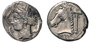 SICILIA - DOMINAZIONE PUNICA -  (320-310 ...