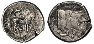 SICILIA - GELA -  (480-470 a.C.) ...