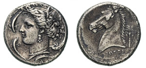 SICILIA - LILYBAION -  (320-300 a.C.) ...