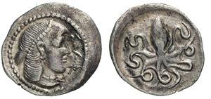 SICILIA - SYRACUSAE -  (466-406 a.C.) Litra. ...