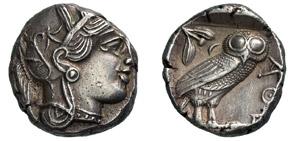 ATTICA - ATHENS -  (479-404 a.C.) ...