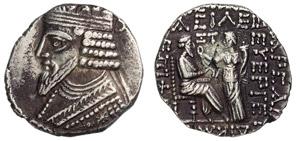 PARTHIA - GOTARZES II (40-51 d.C.) ...