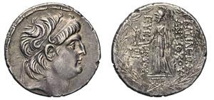 SYRIA - ANTIOCO VII (138-129 a.C.) ...