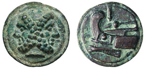 ANONIME (217-213 a.C.) Asse, serie ...
