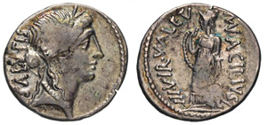 ACILIA - Man. Acilius Glabrio (49 a.C.) ...