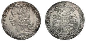 CARLO EMANUELE III (1730-1773) Lira 1742.  ...