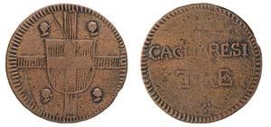 VITTORIO EMANUELE I (1802-1821) 3 Cagliaresi ...