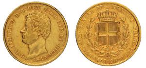CARLO ALBERTO (1831-1849) 20 Lire 1846 ...