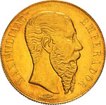MESSICO - MASSIMILIANO  (1864-1867)  20 ...
