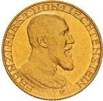 LIECHTENSTEIN - FRANZ I  (1929-1938)  10 ...