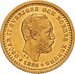 SVEZIA - OSCAR II  (1872-1907)  5 Kronor ...
