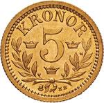 SVEZIA - OSCAR II  (1872-1907)  5 ...