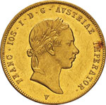 ITALIA - FRANCESCO GIUSEPPE I  (1848-1866)  ...