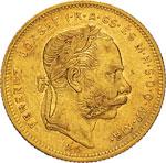UNGHERIA - FRANCESCO GIUSEPPE I  (1848-1916) ...