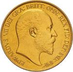 GRAN BRETAGNA - EDOARDO VII  (1901-1910)  5 ...