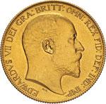 GRAN BRETAGNA - EDOARDO VII  (1901-1910)  2 ...