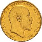 GRAN BRETAGNA - EDOARDO VII  (1901-1910)  ...