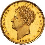 GRAN BRETAGNA - GIORGIO IV  (1820-1830)  ...