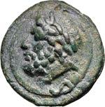 ANONIME  (240-225 a.C.)  Semisse.  D/ Testa ...
