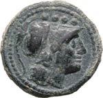 ANONIME  (dopo il 211 a.C.)  Triente.  D/ ...