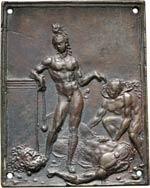 ITALIA  IL MODERNO  (1500-1505)  Placchetta ...