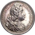 LOMBARDIA  CARLO VI  (1711-1740)  Med. 1734 ...