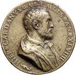 MILANO  GIROLAMO CARDANO  (1501-1576)  Med. ...
