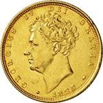 GRAN BRETAGNA  GIORGIO IV  (1820-1830)  ...