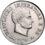 NAPOLEONE I, Imperatore  (1804-1814)  5 Lire ...