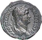 ADRIANO  (117-138)  Dupondio o Asse.  D/ ...