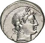 MARCIA - L. Marcius Censorinus  (82 ...