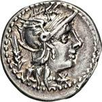 DOMITIA - Cn. Domitius Ahenobarbus  ...