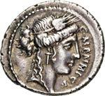 MEMMIA - C. Memmius C.f.  (56 a.C.)  ...
