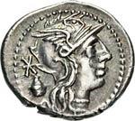 CASSIA - C. Cassius  (126 a.C.)  ...