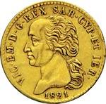 SAVOIA  VITTORIO EMANUELE I  (1802-1821)  20 ...