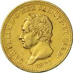 SAVOIA  CARLO FELICE  (1821-1831)  40 Lire ...