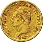 SAVOIA  CARLO FELICE  (1821-1831)  20 Lire ...