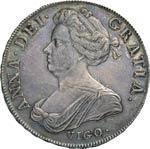 GRAN BRETAGNA  ANNA  (1702-1714)  Corona ...